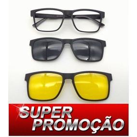 Armação P  Oculos Com Clip Night Driver Ou Video Filter - Óculos no ... 5e37004fee