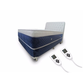 Colchão Magnético Hr Massageador Energia Quântica Queen +box