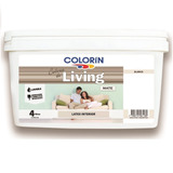 Colorin Living Pintura Látex Interior Blanco X 4 Lts Imagen
