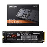 Samsung 960 Evo Nvme M2 Ssd 250 Gb De Alto Rendimiento
