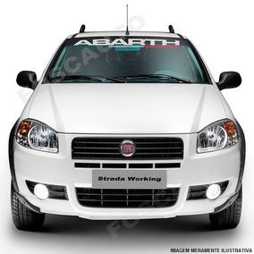 Adesivo Decorativo Parabrisa Abarth - Fiat Palio Siena Linea