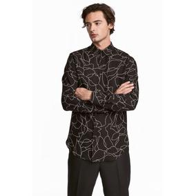 deafcbabf3505 Camisas H M De Hombres - Camisas Manga Larga de Hombre en Mercado ...