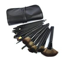 Kit Com 32 Pincéis Maquiagem Pronta Entrega Com Nota Fiscal