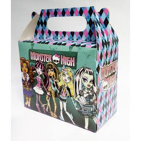 16 Caixinhas Surpresa Lembrancinha Tema Monster High