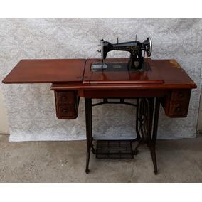 Promoção Máquina Costura Antiga Elgin Gabinete E Pé