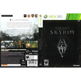 The Elder Scrolls V- Skyrin -xbox 360-desbloqueio Lt3.0 Dvd