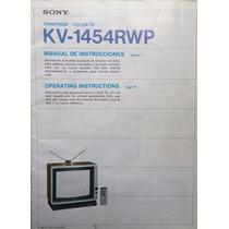 Televisión Sony Trinitron Color 14 Pulgadas