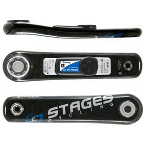 Bielas Shimano De Potencia Stages 105 5800 Bicicletas 170 Mm