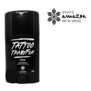 Tranfer Bastão Tattoo Stick Verde 50g