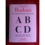The Complete Manual Tipography Giambattista Bodoni Taschen