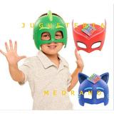 Mascara Antifaz Héroes En Pijamas Ululette Catboy Gecko Luz
