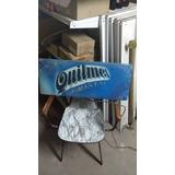 Cartel Quilmes
