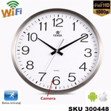 Camara Espia Oculta Reloj Pared Wifi Hd +audio, Cargador W01