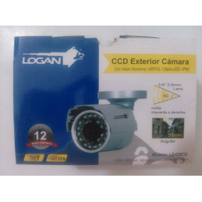 Camara De Seguridad Logan Vision Nocturna 24 Led Ip65
