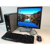 Dell Optiplex 755 4 Gb Y 160 Gb Hdd Monitor De 17