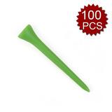 (precio / 100 Pcs) Gogo 2-3 / 4 Tee De Golf, De Plástico,