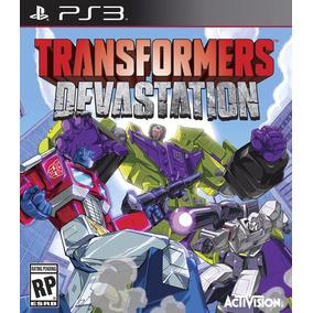 Transformers Devastation Ps3 Mídia Física Lacrado