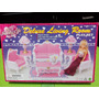 Set Barbie Gloria Sala Colonial De Lujo Deluxe Living Room