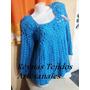 Sweaters Tejidos Crochet Talle S Ym - Tejidos Artesanales.