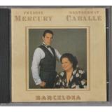Freddie Mercury Montserrat Caballé - Cd Barcelona - 1988