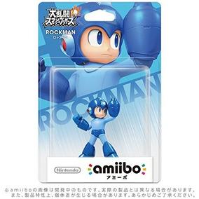 Amiibo Mega-man / Rockman Pronta Entrega No Brasil