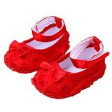 Lindo Pesebre Zapatos Del Bebé Suave Cómoda Suela Antidesli