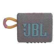 Caixa De Som Jbl Go 3 Portátil Cinza Com Bluetooth