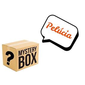 Caixa Misteriosa Mistery Box Pelúcia 3 Produtos Tamanho G
