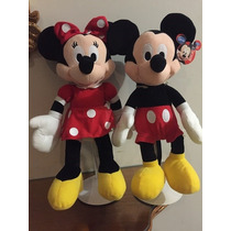 Mickey Mouse Y Mimi Disney 40cms $990.00