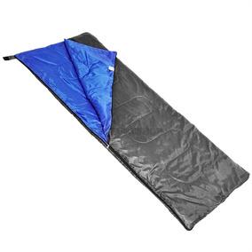 Saco De Dormir Mormaii Fun Azul E Cinza Solteiro Camping