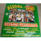 Cuarteto Continental Alegria Y Amor Vinilo Oferta 20