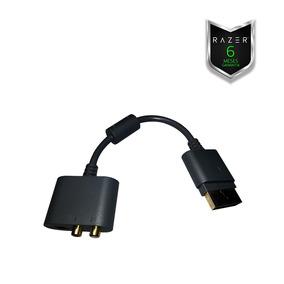 Xbox 360 Adaptador De Audio Headsets E Entrada Ótica Razer