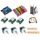 Kit Grbl Mini Cnc, Arduino, 3 Driver, 3 Nema 17, Shield Cnc
