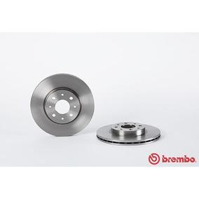 Discos Delanteros Brembo Fiat Strada Pickup 03-17 Par