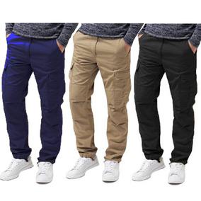 Pack X3 Pantalon Cargo Hombre Grafa