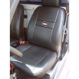 Capa Banco Couro Ecologico Pickup Chevy 500 + Brinde