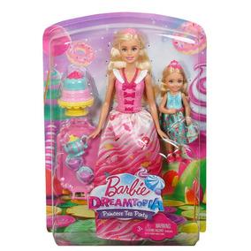 Barbie Villa Caramelo Princesa Y Chelsea Juego De Te
