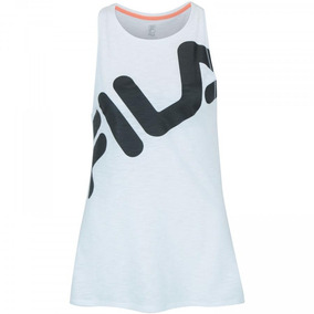Camiseta Regata Fila Honey Ii - Feminina - Cor Branco preto d118310c93b