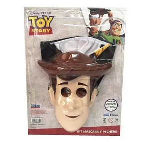 Disfraz Woody Mascara Y Pechera Toy Story Disney