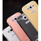 Capa Metal Bumper Espelhada Celular Galaxy Grand Duos 9082