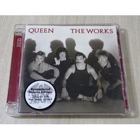 Cd Duplo Queen - The Works Deluxe 2011 Importado Uk