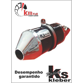 Escape Ponteira Alumínio Ks Racing + Curva Inox Xre 300