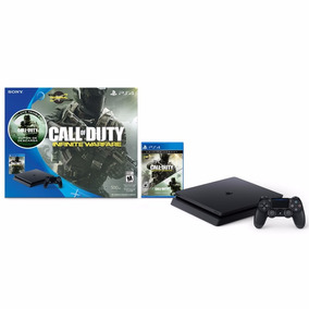 Ps4 Slim 500 Gb + Juego Call Of Duty + 1 Joystick