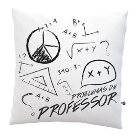 Almofada Dia Dos Professores Cafeína