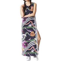 Vestido Largo Originals Long Tank Dress Mujer Adidas Az3240