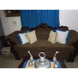 Se Vende Juego De Muebles En Caoba En Perfectas Condiciones