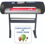 Plotter Corte Coreldirect+contorno+metal+fuerza+5año Moritzu