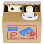 Alcancía Gato Roba Monedas Automático, Cat Box Nuevo