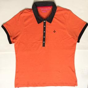 Camisa Polo Feminina Dudalina Algodão Pima Original