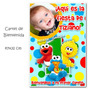 Cumple Primer Añito: Elmo Bb - Cartel De Bienvenida